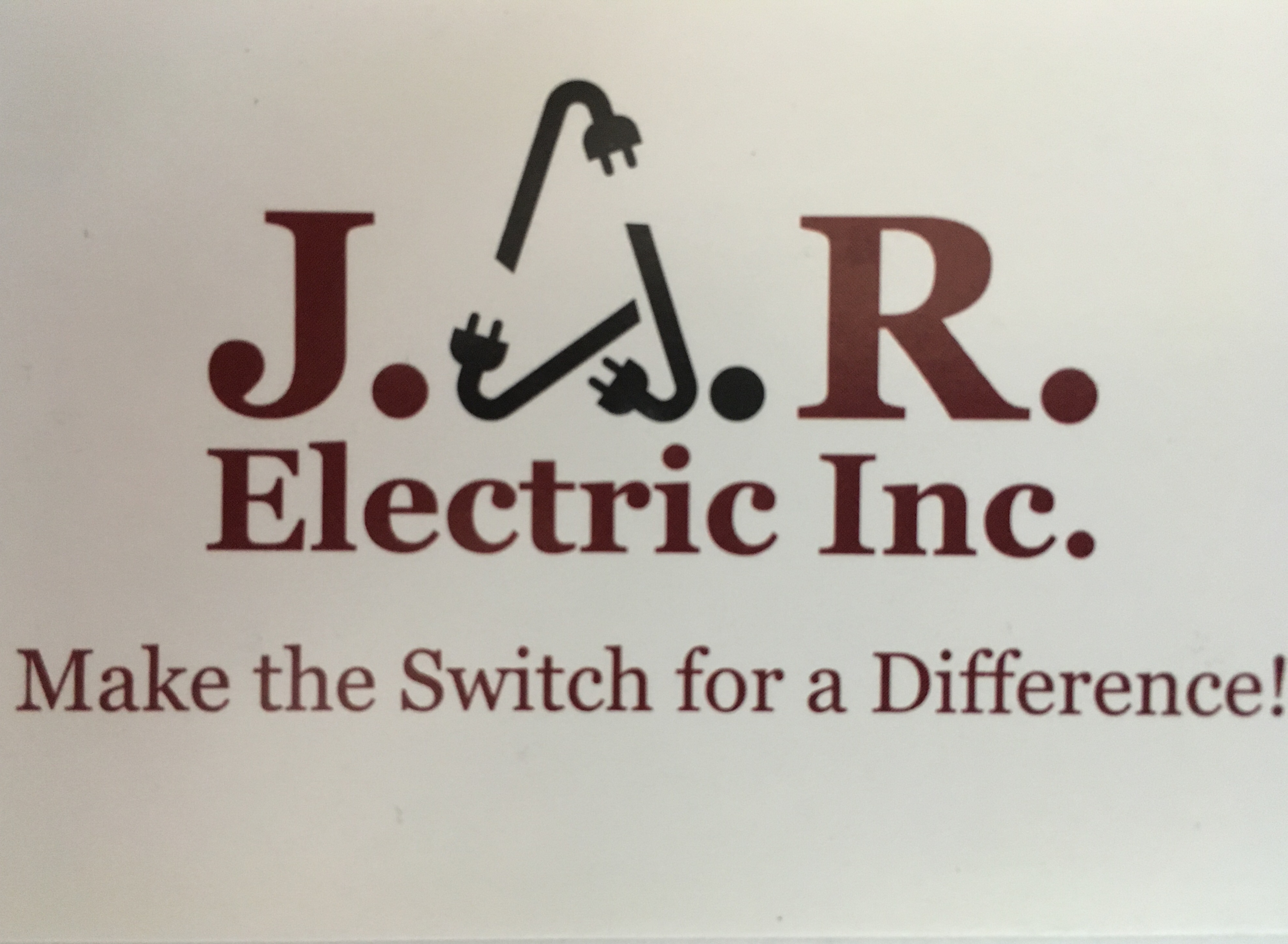 J.A.R. Electric  logo